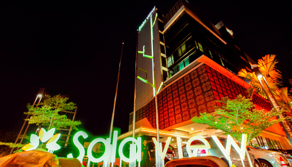 Sala View Hotel Solo - tampak depan