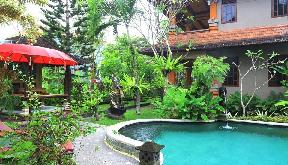 Uma Sari Cottage Bali - Kolam Renang