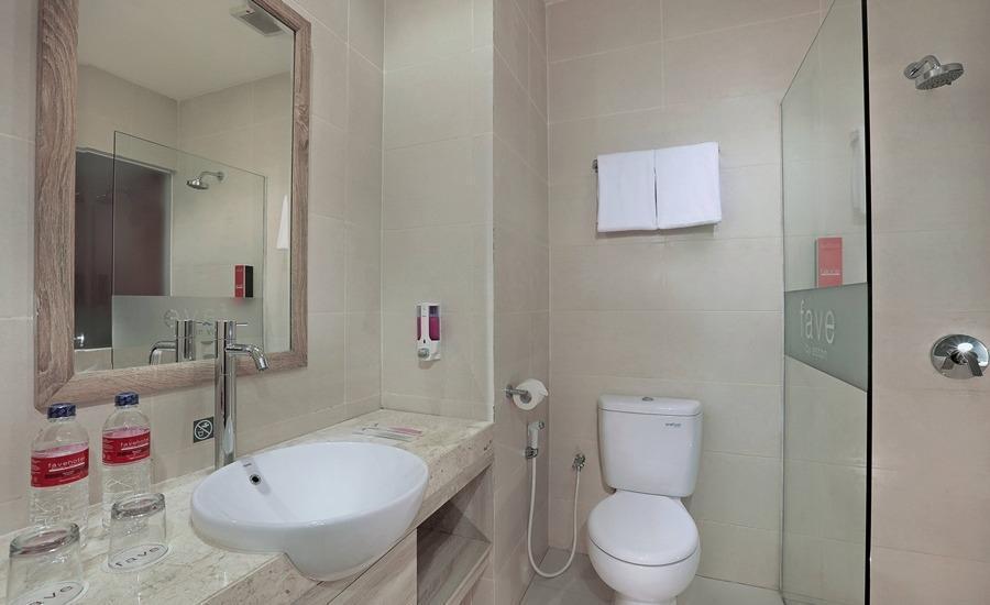 favehotel Banjarbaru Banjarmasin - Deluxe Bathroom