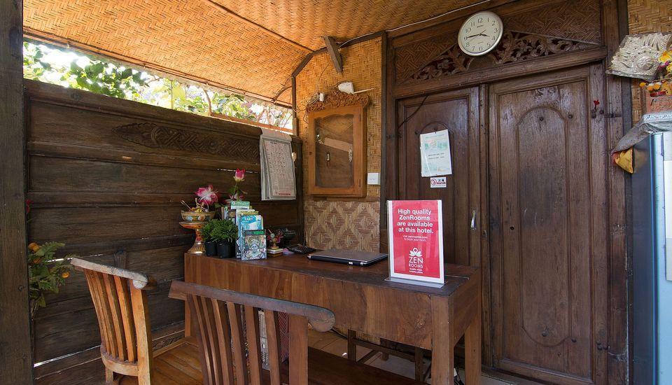 ZenRooms Ubud Jatayu Bali - Resepsionis