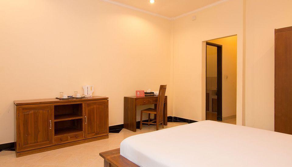ZenRooms Ubud Jatayu Bali - Tempat Tidur Double