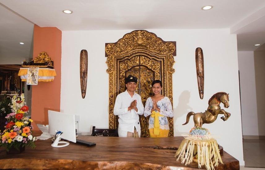 Grand Pudjawan Hotel Bali - Reception