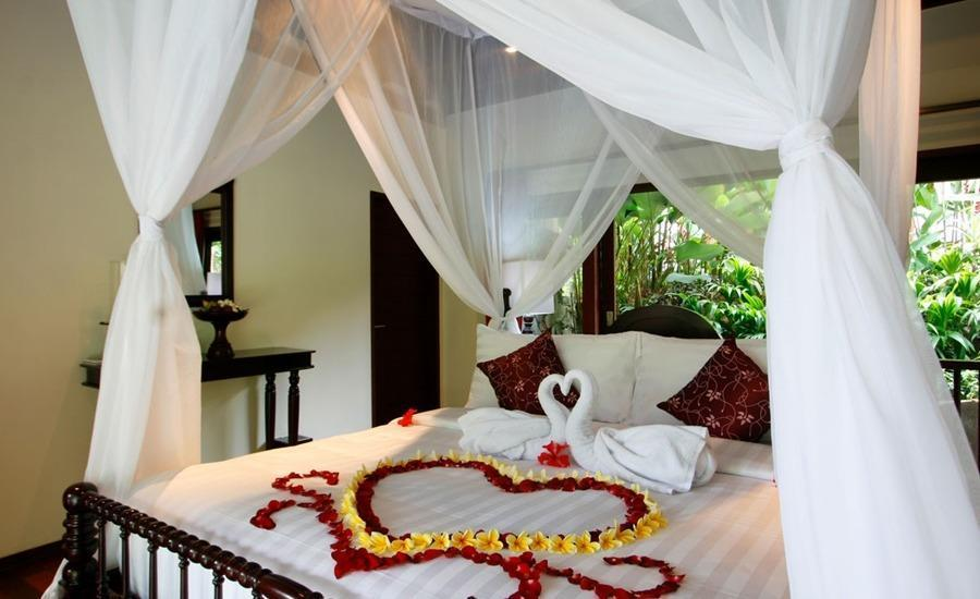 Beingsattvaa Vegetarian Retreat Bali - Suite Double Bed Room Regular Plan