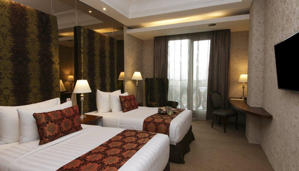 Cinnamon Hotel Boutique Syariah Bandung - Deluxe Room Twin Bed with Breakfast Regular Plan