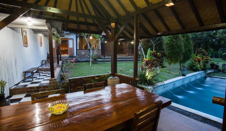 Kubu Ampo Villa Bali - Tempat makan