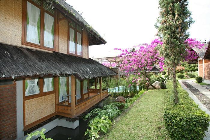 Kampung Sumber Alam Garut Garut - Bungalow Arileu