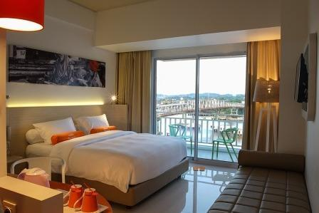 HARRIS Hotel Samarinda - HARRIS Room Riverview