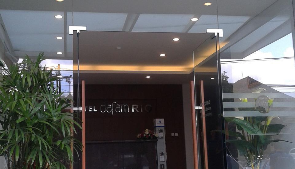 Hotel Dafam Rio Bandung - Masuk