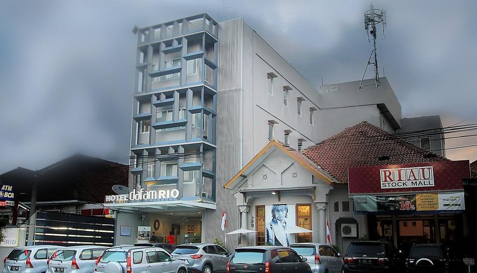 Hotel Dafam Rio Bandung - Tampilan Luar Hotel