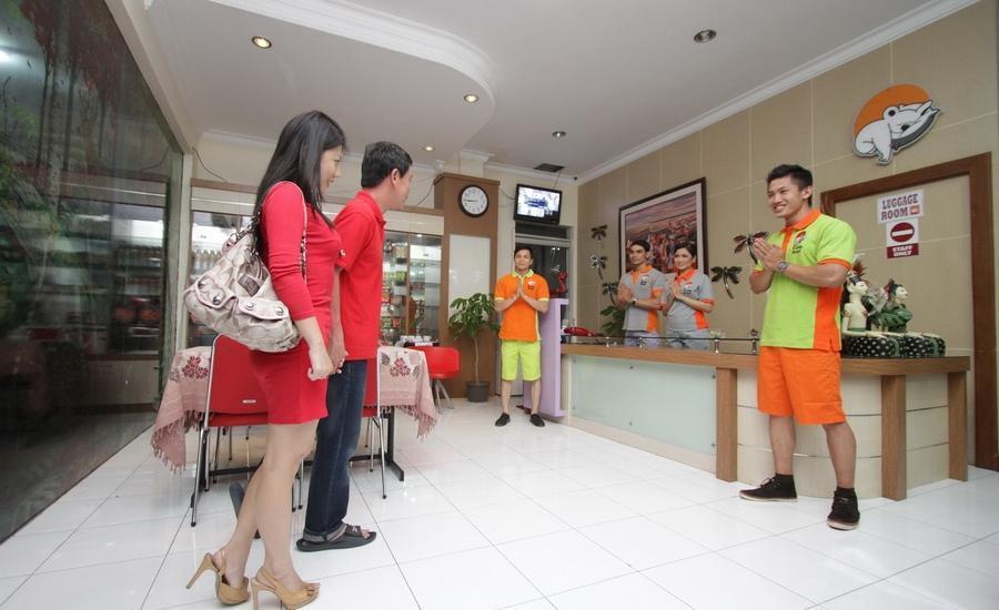 The Cabin Hotel Sutomo Yogyakarta - Masuk