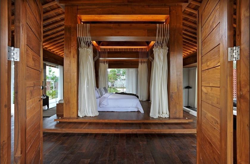 Djoglo Luxury Bungalow Malang - kamar tidur