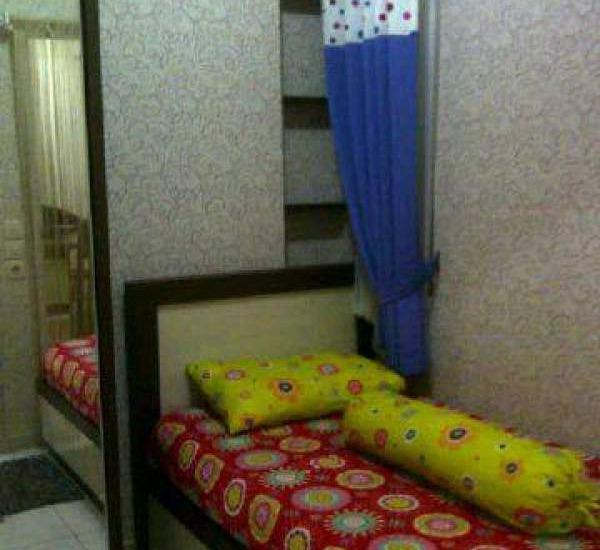 Marzeta Hotel Apartment Bekasi - Kamar tidur kedua untuk anak-anak
