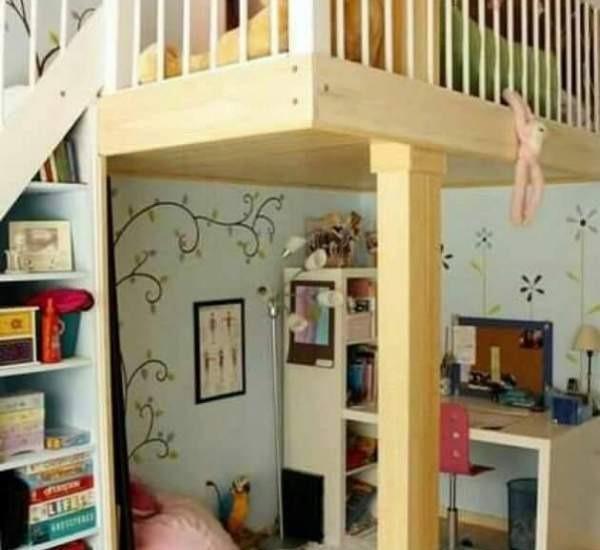 Marzeta Hotel Apartment Bekasi - kedua kamar untuk anak-anak