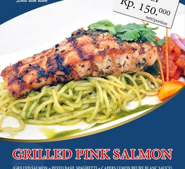 Savoy Homan Bandung - Salmon panggang Pink