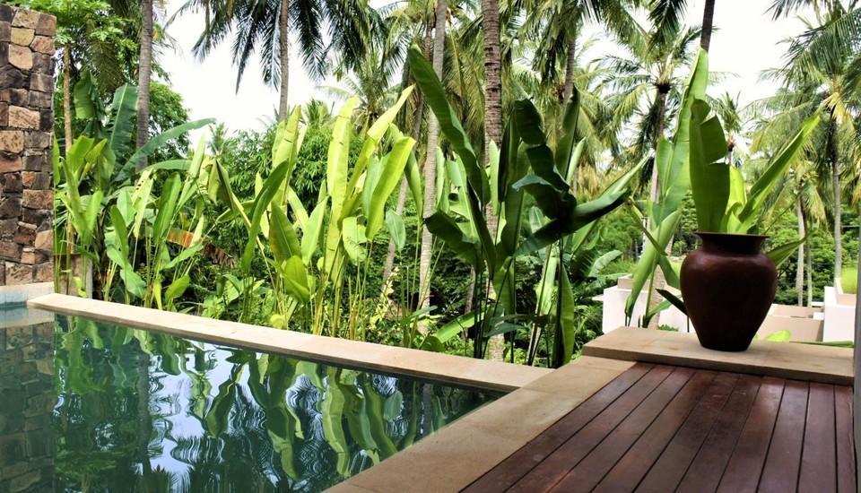 Svarga Resort Lombok - Kolam Renang Adna Pool Deluxe