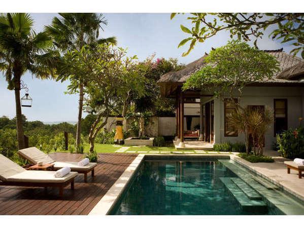 Karma Jimbaran Bali - Valley View Deluxe Samping Kolam Renang