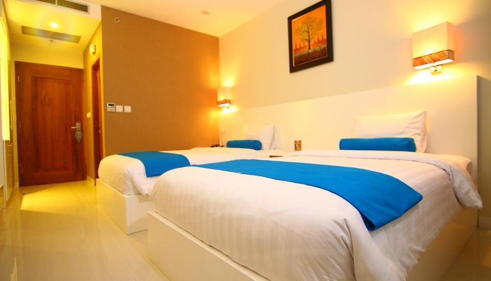 Hotel Falatehan Jakarta - Deluxe Twin Room Only Regular Plan