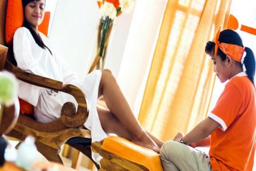 HARRIS Hotel Raya Kuta Bali - Ruang pijat