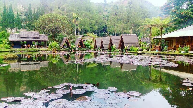 Imah Seniman Bandung - Pemandangan resto