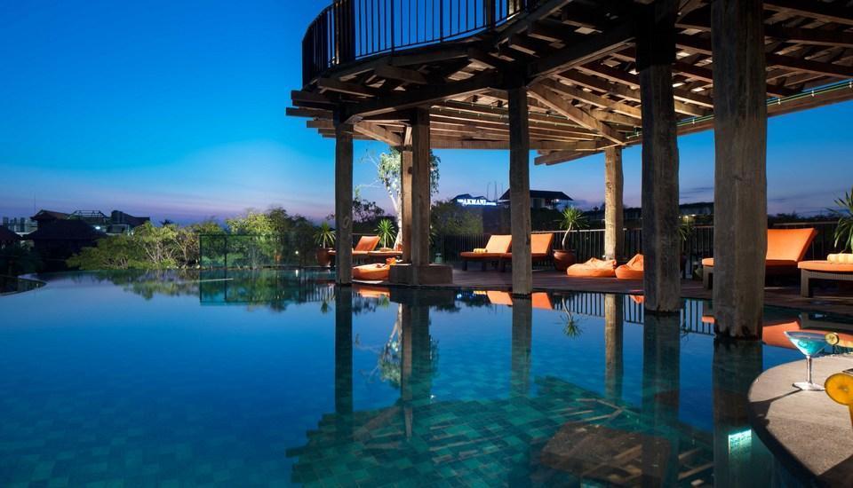 Sun Island Hotel Legian - Kolam Renang