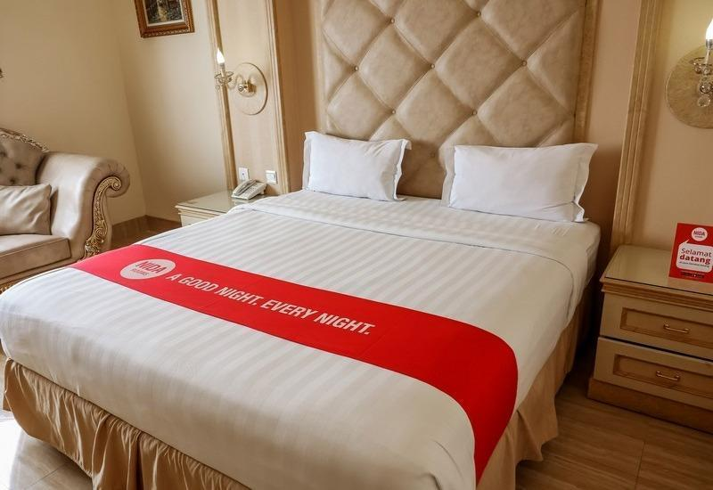 NIDA Rooms Pasar Segar Complex Makassar - Double Room Double Occupancy NIDA Fantastic Promo