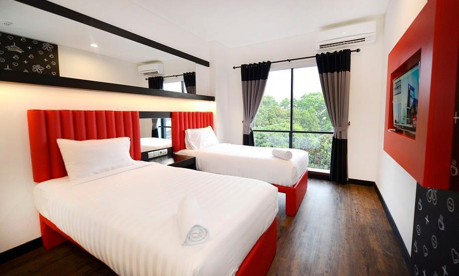 Kalya Hotel Bandung - Twin Room With Breakfast Regular Plan