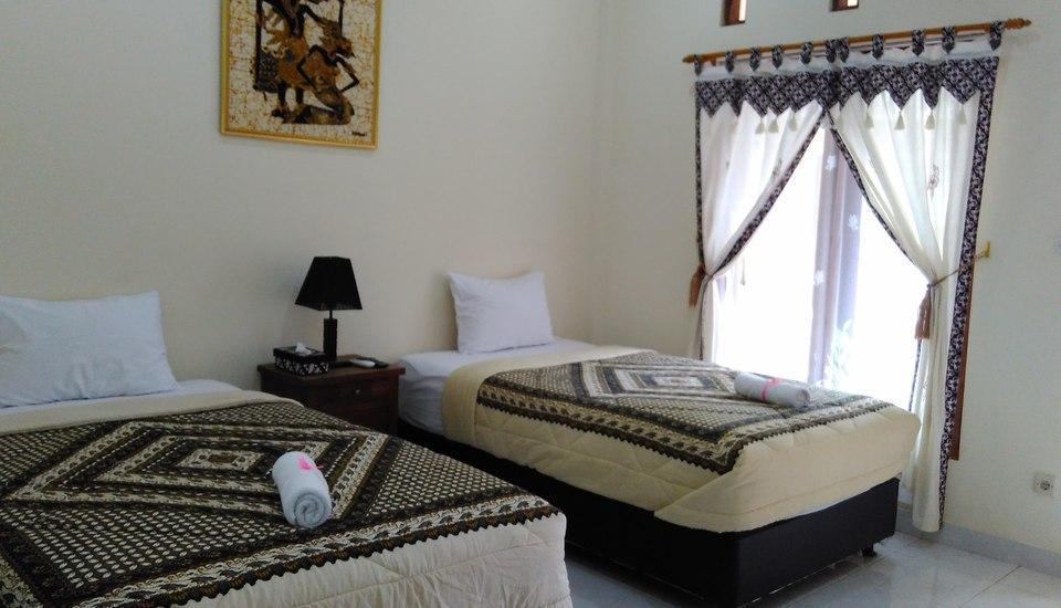 Ndalem Padma Asri Yogyakarta - standar tempat tidur twin