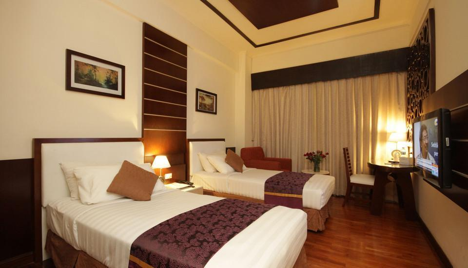 Hotel Maharadja Jakarta - Superior Twin Room Only Regular Plan