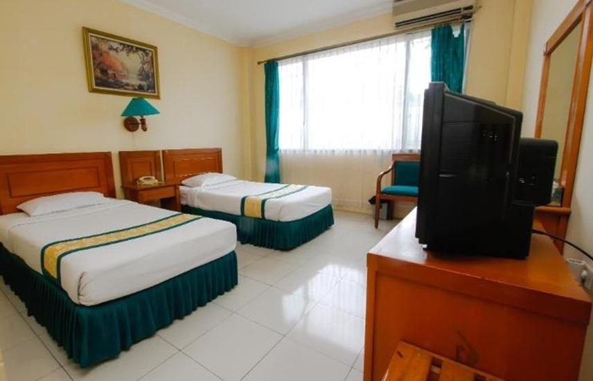 Hotel Griya Tirta Bangka - Deluxe Twin Room Regular Plan