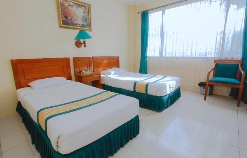 Hotel Griya Tirta Bangka - Deluxe Twin Room Only Regular Plan