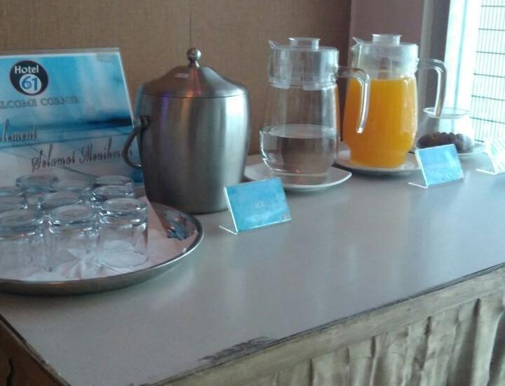 Hotel 61 Banda Aceh - tea time