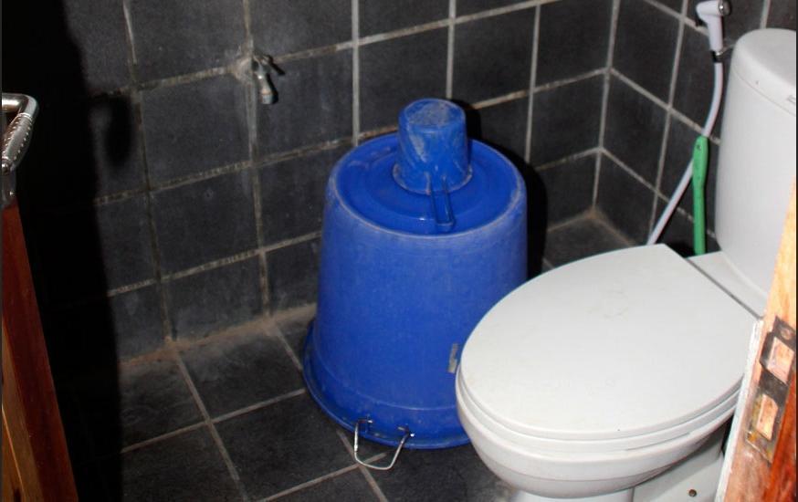 Pondok Cowet Batukaras Pangandaran - Bathroom Standar Room