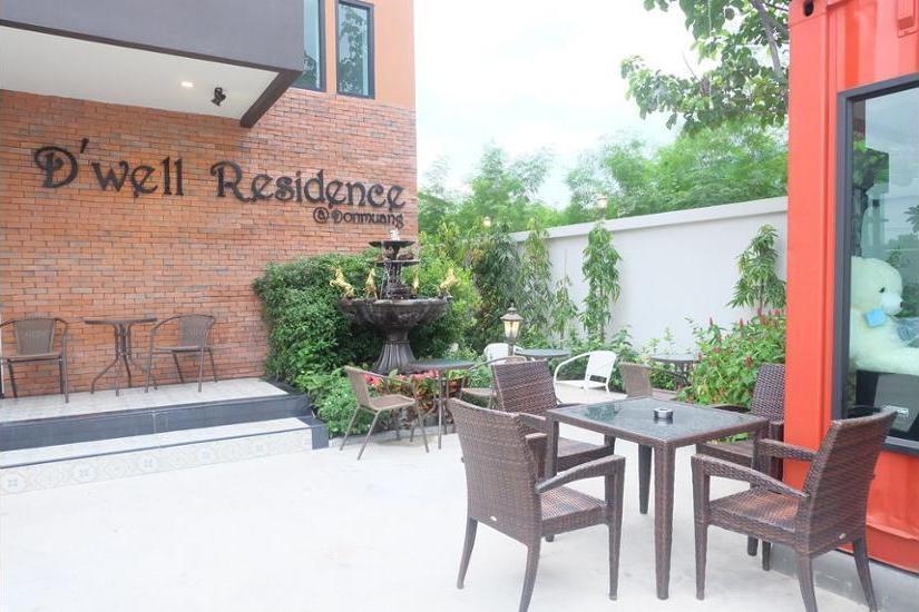 ZEN Rooms D-well Residence Don Muang Bangkok - Terrace/Patio