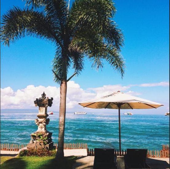 Sea Breeze Candidasa - Living Area