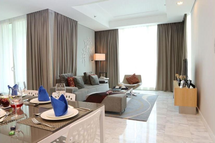 Fraser Residence Sudirman Jakarta - Kamar Deluks, 2 kamar tidur Hanya malam ini: hemat 30%