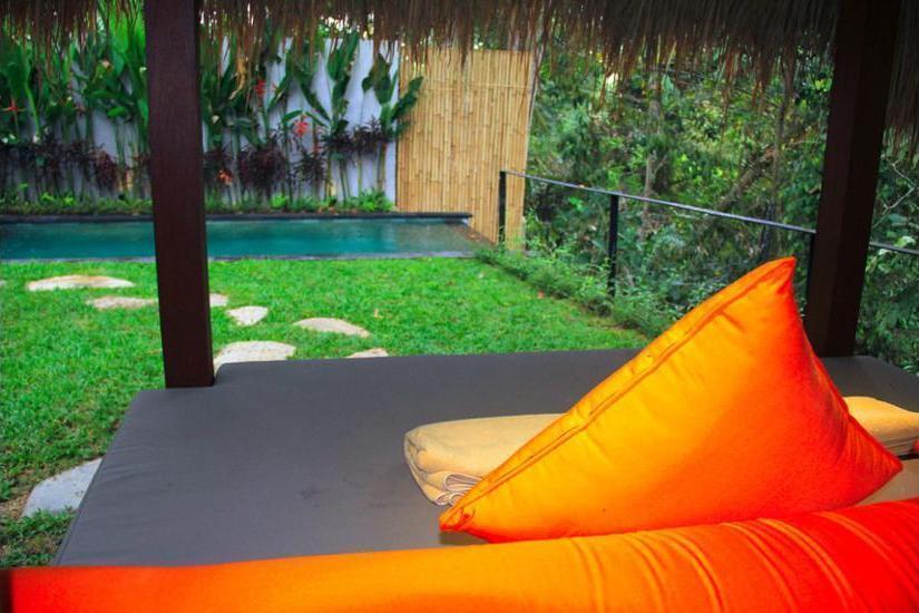 Ubud Padi Villas Bali - Balcony
