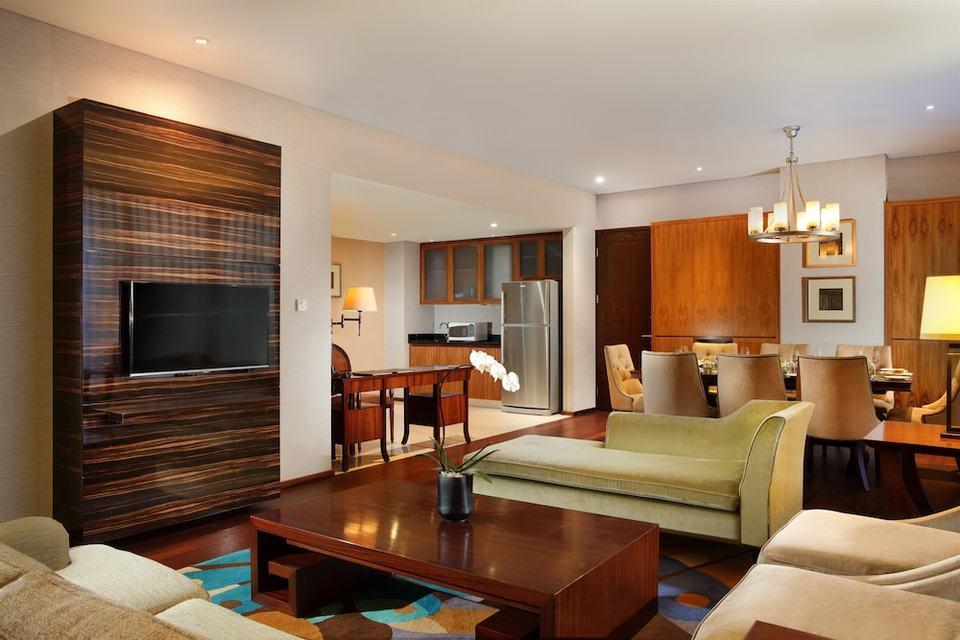 Hilton Bandung - Kamar Eksekutif, 2 tempat tidur queen, akses business lounge (Plus) Regular Plan