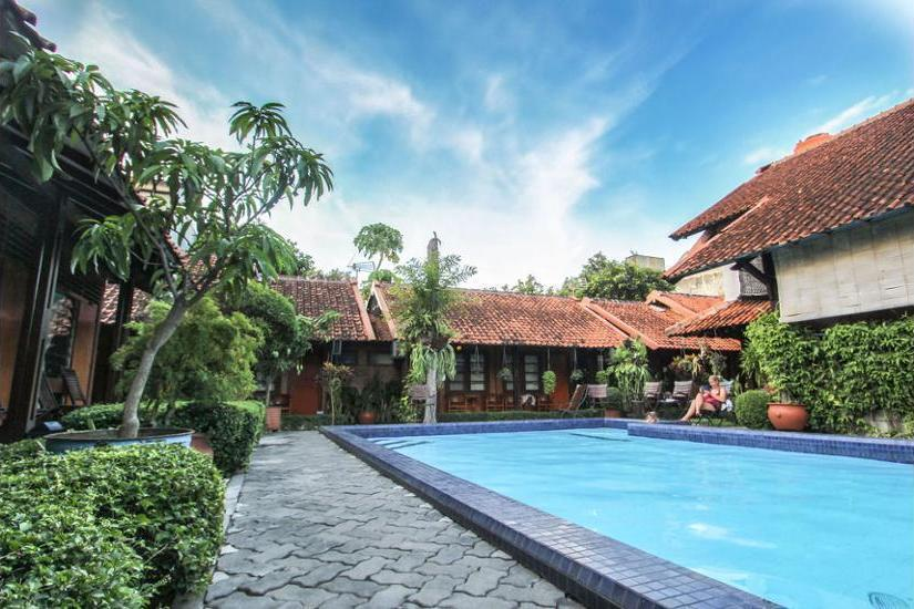 Delta Homestay Yogyakarta - Outdoor Pool