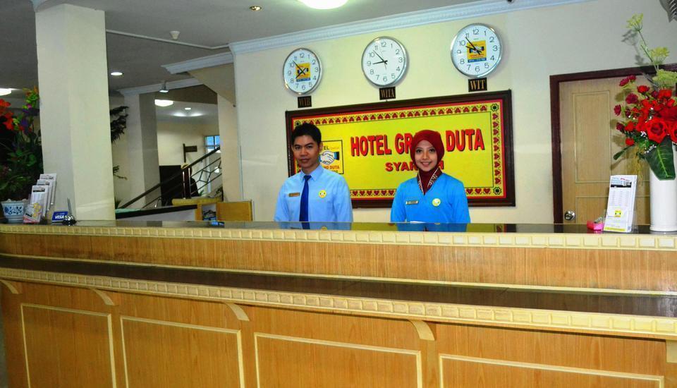 Hotel Grand Duta Palembang - RESEPSIONIS