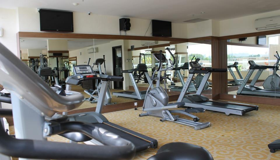 BCC Hotel  Batam - The BCC Hotel & Residence fitness center