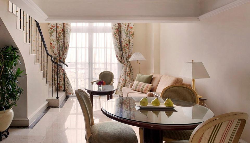 Hotel Gran Mahakam Jakarta - Ruang tamu