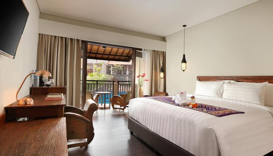 Best Western Premier Agung Resort Ubud Ubud - Deluxe Room with Pool View Regular Plan