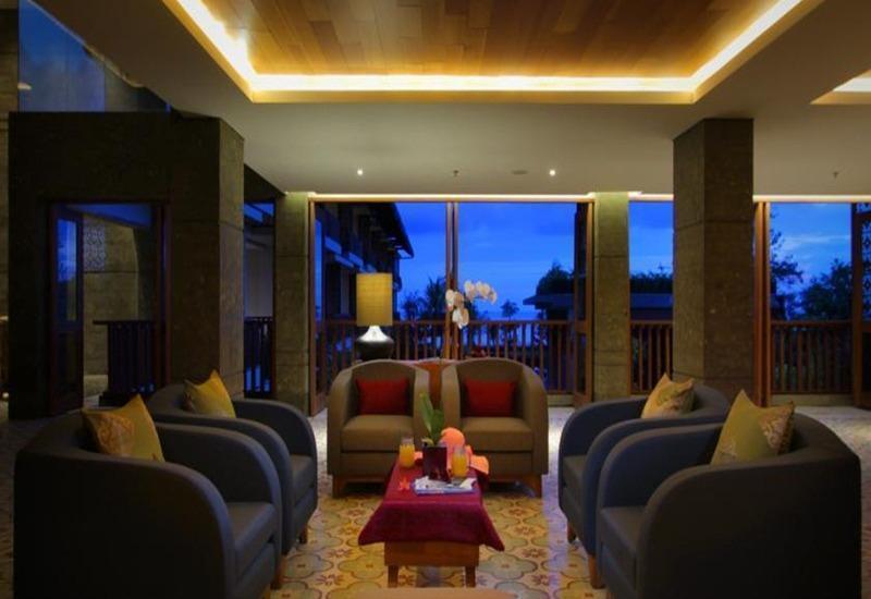 The Haven Suites Bali Berawa - Ruang tamu