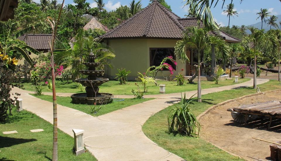 Hotel Uyah Amed - Pemandangan laut laut villa keluarga maks 4 orang