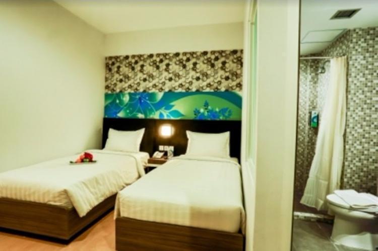 Evo Hotel Pekanbaru Pekanbaru - Deluxe Twin Room Regular Plan