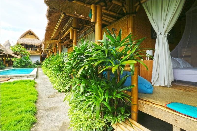 Moon Bamboo Bali - exterior