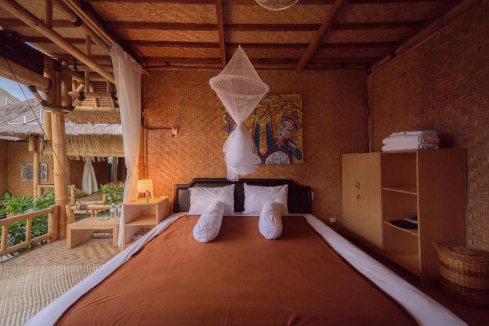 Moon Bamboo Bali - Deluxe King Room Basic Deal 40%