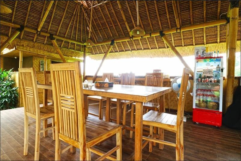 Moon Bamboo Bali - Breakfast area