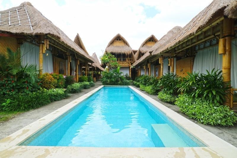 Moon Bamboo Bali - Pool