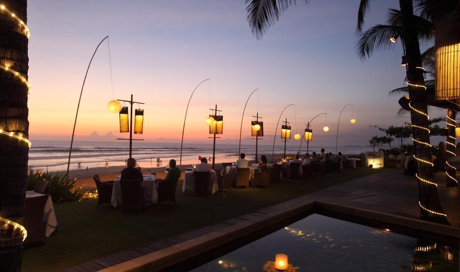 The Samaya Seminyak Bali Bali - Sunset at Breeze 3